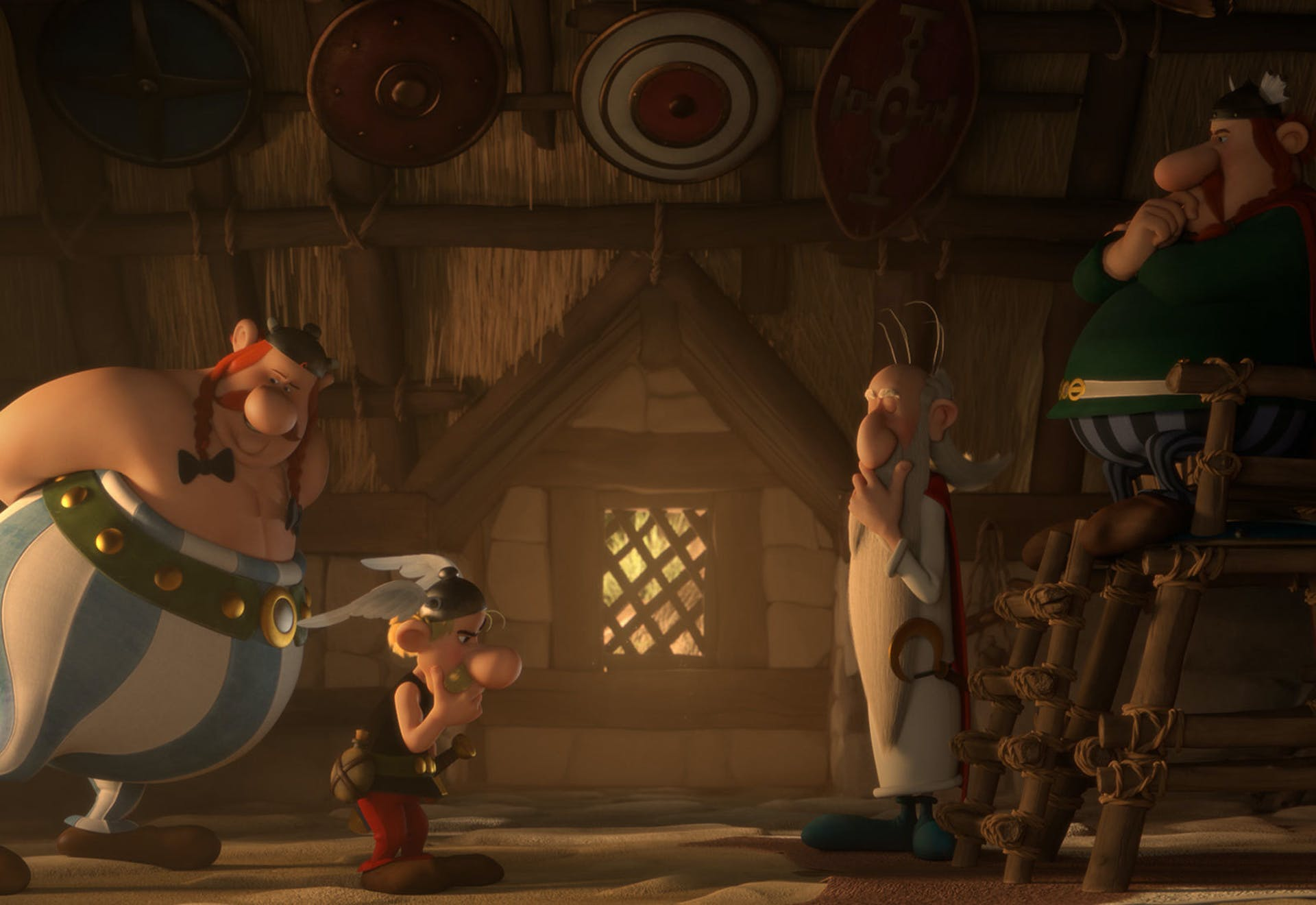 Asterix: Mansions of the Gods