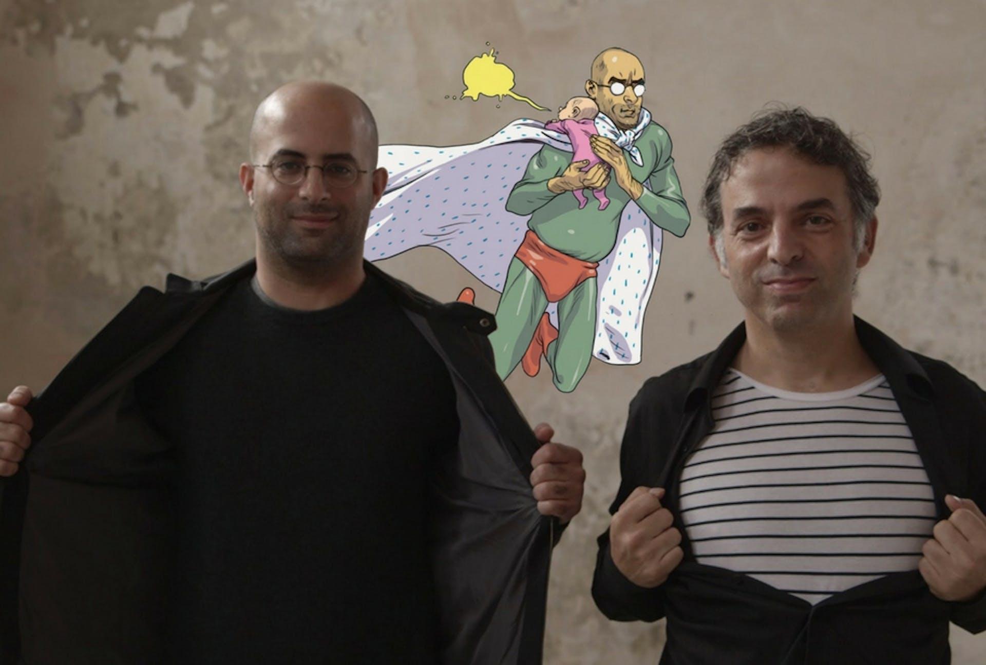 The Hebrew Superhero (Gibor Ha'al Ha'ivri)